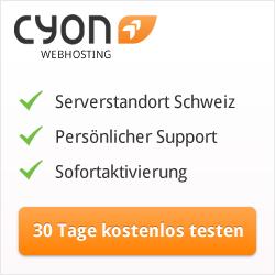 cyon.ch - seit Jahren zuverlässig
